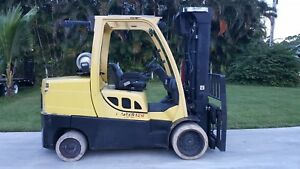 Hyster Forklift 12000 Lbs Propane Low Hours S120ft