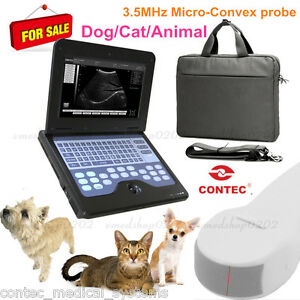 Potable Laptop Machine Vet Veterinary Ultrasound Scanner 5 0 Micro convex Probe