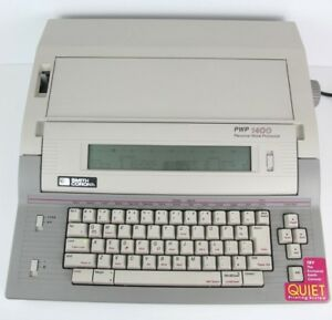 Rare Smith Corona Pwp 1400 Electric Typewriter Personal Word Processor W Ribbon