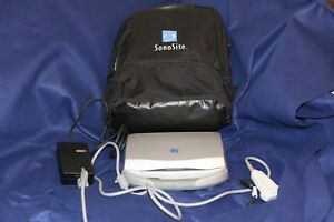 Sonosite Titan Portable Ultrasound Tested With Probe Charger And Backpak