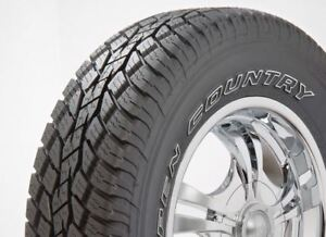 Toyo Open Country A T Ii Tire P245 65r17 105t 352030 Qty 2