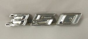 Vintage Early 1970 S Pontiac Le Mans Emblem Chrome Finish