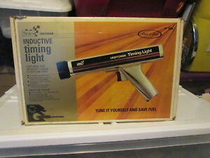 Vintage Sears Craftsman Inductive Timing Light 28 2134 Very Good Condition