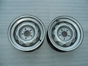 Mopar 15 X 6 1 2 Rally Wheels Cuda Challenger Charger Superbee 426 Hemi 440