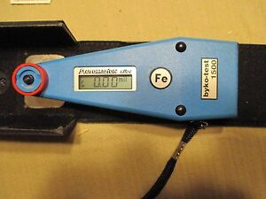 Automation Byko test 1500 Digital Thickness Gage Fe And Nfe