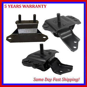 Engine Motor Trans Mount 2784 2904 2905 3pcs For 1996 1998 Ford Mustang 3 8l