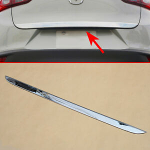 For Mazda Cx 3 2016 2019 Chrome Tail Gate Trunk Strips Molding Accessories