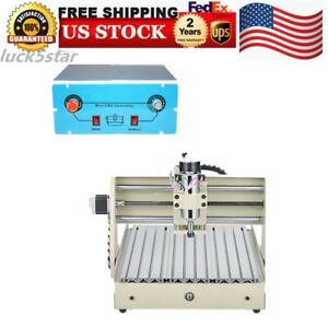 3 Axis 3040 T screw Cnc Router Engraver Engraving Cutter Desktop 3d Cutting 400w