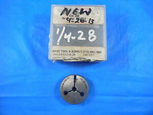 1 4 28 Unf 2a Thread Ring Gage 250 Go Only Pd 2258 Quality Inspection