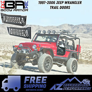 Body Armor 4x4 1997 2006 Jeep Wrangler Trail Doors Free Shipping