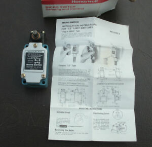 Honeywell Compact Micro Limit Switch 1ls2 9447 New In Box Old Stock As Pictured