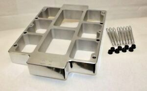 Supercharger Spacer Raises Up Your Blower 2 Higher Polished Fits 6 To 14 71