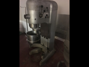 Hobart 140 Qt Dough Mixer V 1401 Bakery Equipment W ss Bowl hook