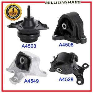 New Engine Motor And Transmission Mounts For Acura Rsx 2002 2006 2 0l Set Of 4pc