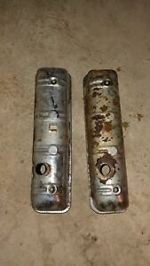 Studebaker Valve Covers 1957 Stude Chrome Rat Rod Restore Avanti Golden Hawk