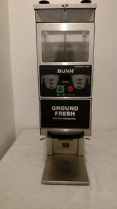 Lightly Used Bunn G9 2t Dbc Double Hopper Portion Control Coffee Grinder