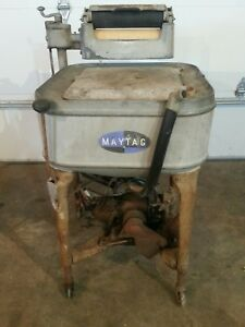 Maytag Model 92 Gas Engine And Washer