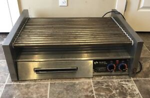 Star Grill Max Pro Hot Dog Roller Model 75 120v Electric