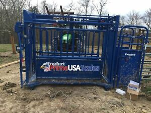 Livestock Scale Weigh Bars Chute 6 800 Lb Cattle Scale Portable Scale 40 X 4