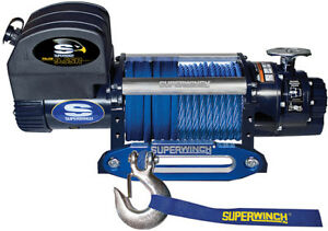 Superwinch Talon 9500 12 Volt Winch Rated Up To 9 500 Lbs W Remote 1695200