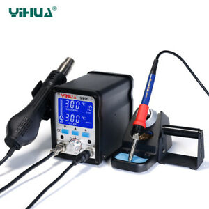 Yihua 995d Soldering Station Welding Repair Staion 110v 220v Us eu Plug
