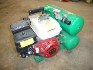 Jenny Portable Gas 125 Psi 4 Gal Hand Carry Air Compressor W Honda Gx120
