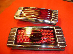 1941 47 Packard Six Taillights