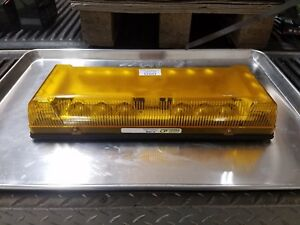 Used Whelen Responder Lp Mini Led Lightbar In Amber Snow And Construction Rigs