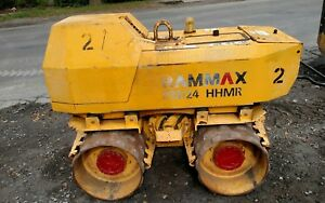 Rammax P 3324hhmr Remote Control Vibratory Sheeps Foot Roller Trenchcompactor