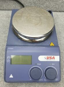 Usa Scientific 8181 2349 Magnetic Stirrer hot Plate Fully Working Nice