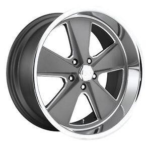 Cpp Us Mags U120 Roadster Wheels 17x7 18x8 Fits Oldsmobile Cutlass 442 F85