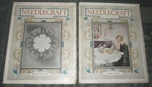 2 March 1923 And April 1923 Publications Needlecraft