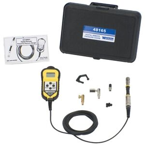 Waekon Industries 48165 Universal Digital Pressure Gauge W Remote Read
