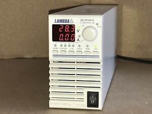 Lambda Regulated Dc Power Supply Zup36 6 0 36v 0 6a