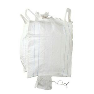 50 New Super Sacks Fibc Bulk Bags 35x35x54 Duffel Top And Bottom Spout