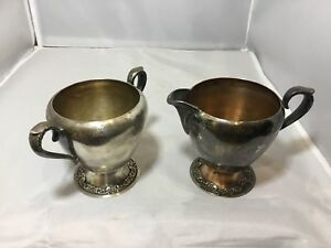 Roger S Brother Cream And Sugar Set