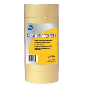 5 X Pack Of 9 Intertape Pg505 Professional Grade Masking Tape 94in X 60yds New
