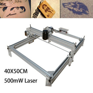 500mw Desktop Laser Engraving Machine 40 50cm Engraver Printer Diy Logo Mark
