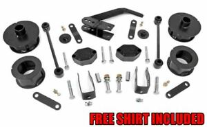 Rough Country 2 5 Series Ii Suspension Lift Kit For 2007 2018 Jeep Wrangler Jk