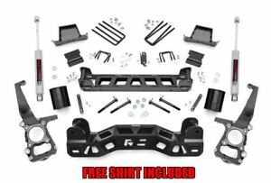 Rough Country 6 Suspension Lift Kit For 2009 2014 Ford F 150 2wd