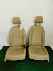 07 08 09 Volkswagen Jetta Tan Leather Front Bucket Seats Sedan Hot Rod L R