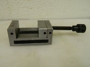 Interstate Toolmaker s Vise 2 3 8 Jaw Width 2 1 8 Jaw Opening Cap 09287624