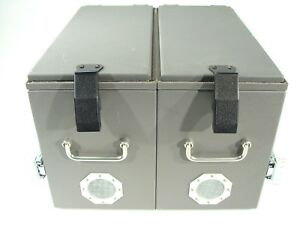 Ramsey Electronics Ste2952 Dual Ste2950 Rf Shielded Test Enclosure Emi Chamber