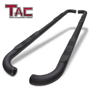 For 2009 2018 Dodge Ram 1500 Crew Cab 3 Texture Side Step Rails Running Boards