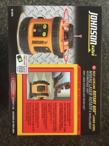 Johnson level tool 800 self leveling Rotary Laser System With Tripod