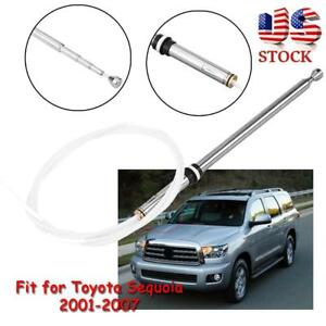Power Antenna Aerial Fm Am Radio Replacement Mast Cable Fit Toyota Sequoia 01 07
