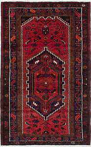 Hand Knotted Persian 3 10 X 6 0 Persian Vintage Traditional Wool Rug
