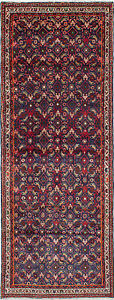 Hand Knotted Persian 3 7 X 9 7 Mahal Traditional Wool Rug