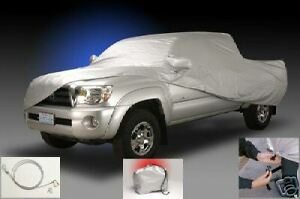 Toyota Tacoma 2012 2015 Double Cab Short Bed Custom Car Cover With Bag New