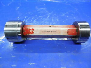 2 1 8 12 Un 3b Thread Plug Gage 2 125 Go No Go Pds 2 0709 2 0768 Inspection